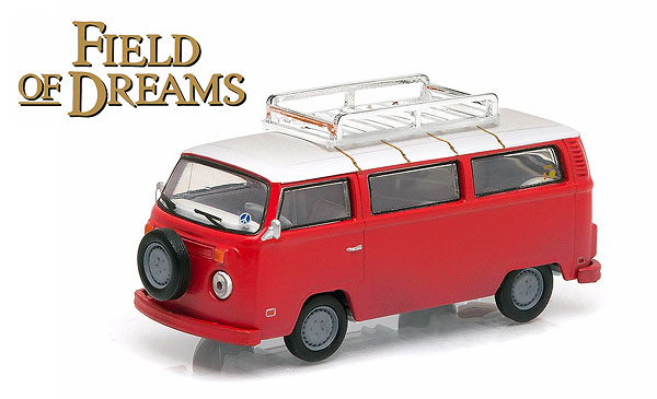 44690-E - Greenlight Diecast 1973 Volkswagen Type 2 T2B Bus Field