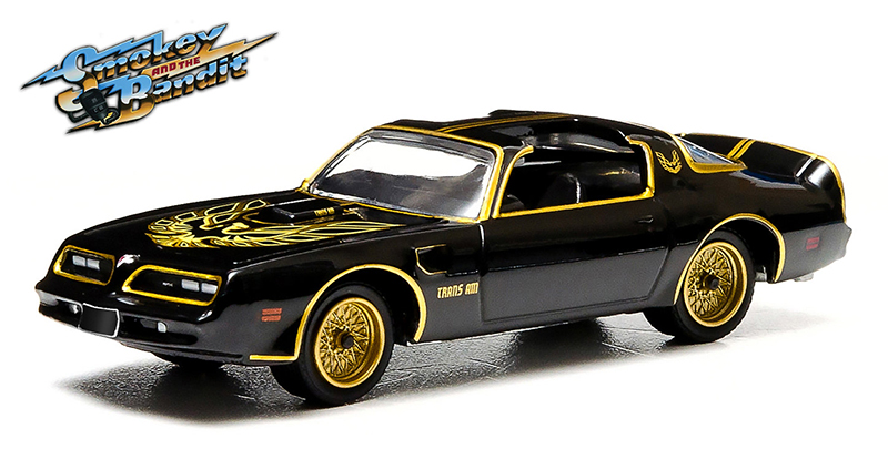 44710-A - Greenlight Diecast 1977 Pontiac Trans Am Smokey and