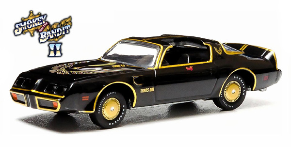 44710-B - Greenlight Diecast 1980 Pontiac Trans Am Smokey and