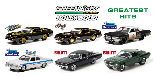 44711-CASE - Greenlight Hollywood Series Greatest Hits 6 Piece