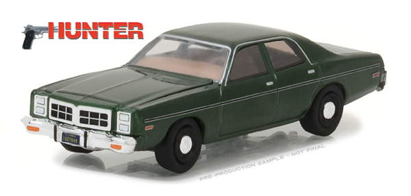 44780-C - Greenlight Diecast 1978 Dodge Monaco Hunter 1984 91 TV