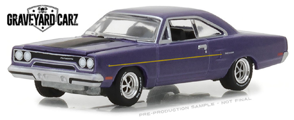 44800-D - Greenlight Diecast 1970 Plymouth Road Runner Graveyard Carz TV