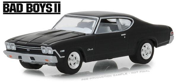 44810-E - Greenlight Diecast 1968 Chevrolet Chevelle SS Bad Boys II