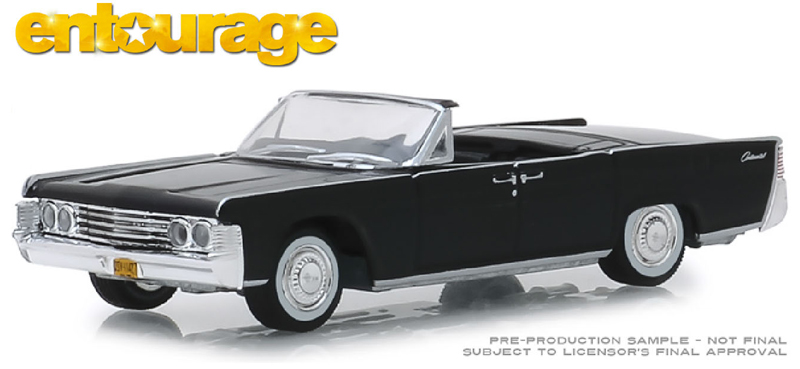 44820-D - Greenlight Diecast 1965 Lincoln Continental Convertible Entourage TV Series