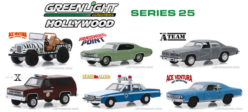 44850-CASE - Greenlight Diecast Hollywood Series 25