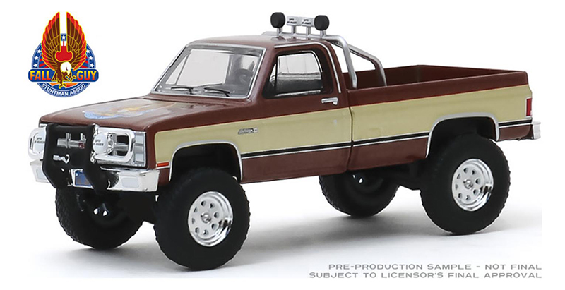 44860-F - Greenlight Diecast Fall Guy Stuntman Association 1982 GMC K