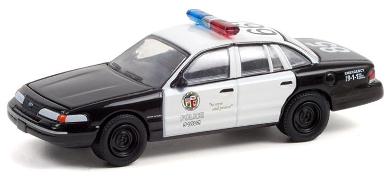 44930-D - Greenlight Diecast Los Angeles Police Department LAPD 1992 Ford