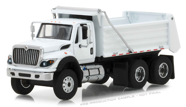45040-A - Greenlight Diecast 2018 International WorkStar Construction Dump Truck