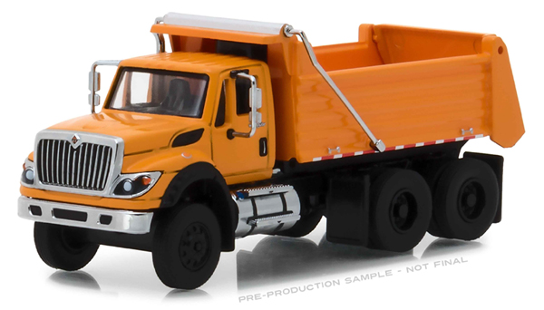 45050-A - Greenlight Diecast 2018 International WorkStar Construction Dump Truck