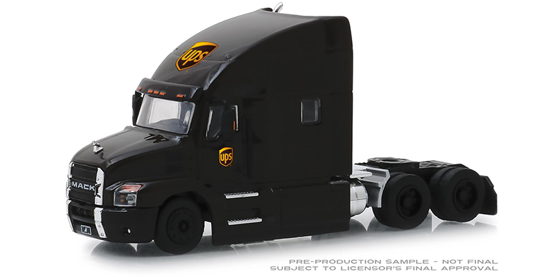 45070-A - Greenlight Diecast UPS 2019 Mack Anthem Tractor Cab United