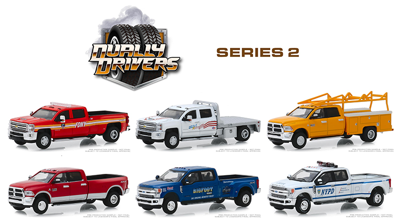 46020-MASTER - Greenlight Diecast Dually Drivers Series 2 Master Case 48