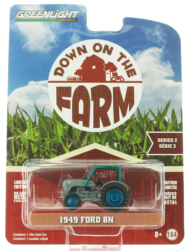 48020-B-SP - Greenlight Diecast 1949 Ford 8N Tractor