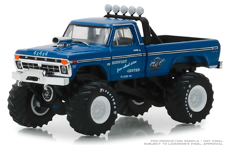 49030-A - Greenlight Diecast Midwest Four Wheel Drive Performance Center