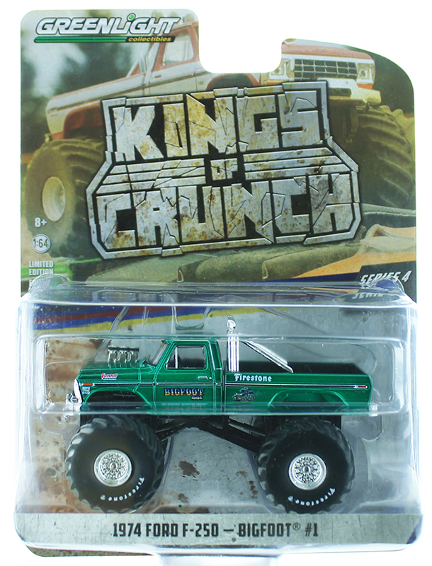 49040-A-SP - Greenlight Diecast Bigfoot 1 1974 Ford