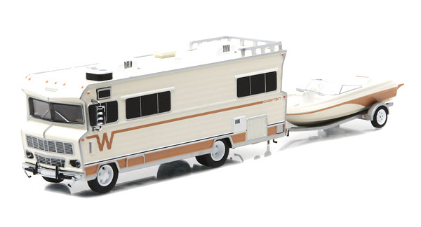 51082-X - Greenlight Diecast 1973 Winnebago Chieftain RV