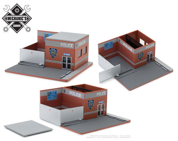 57042 - Greenlight Diecast New York City Police Department NYPD Hot