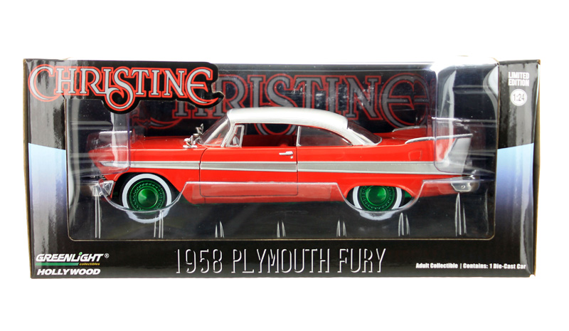 84071-SP - Greenlight Diecast Christine 1958 Plymouth Fury Christine 1983 SPECIAL