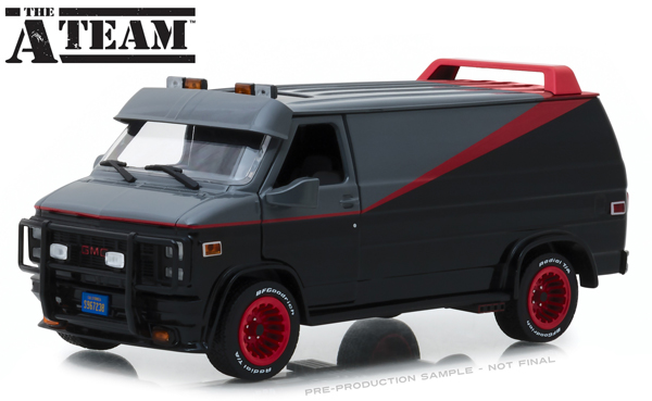 84072 - Greenlight Diecast 1983 GMC Vandura