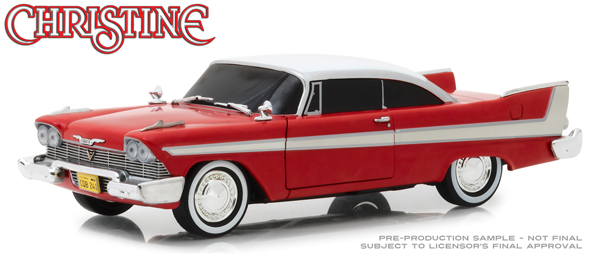84082 - Greenlight Diecast Christine 1958 Plymouth Fury Evil Version