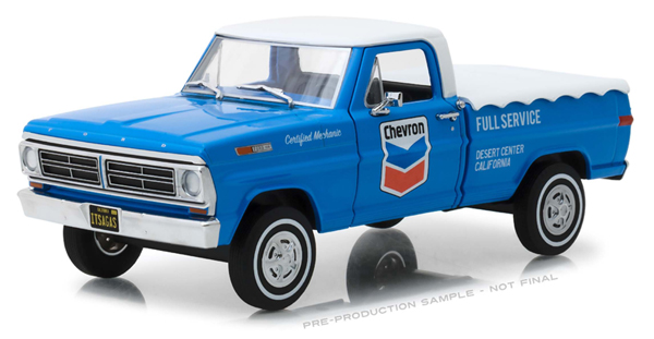 85013 - Greenlight Diecast Chevron Full Service 1972 Ford