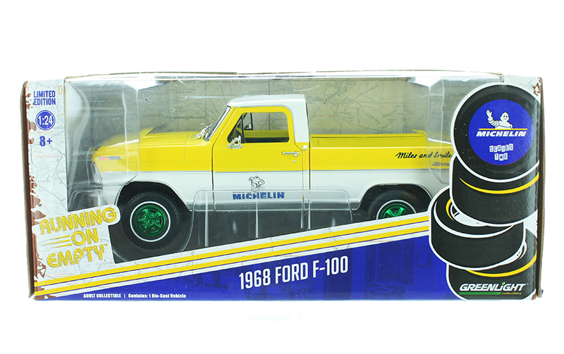 85023-SP - Greenlight Diecast Michelin Tires 1968 Ford