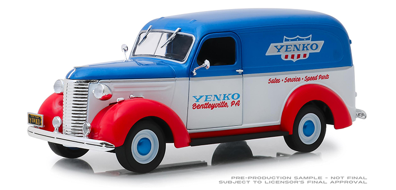 85041 - Greenlight Diecast Yenko Sales and Service 1939 Chevrolet Panel