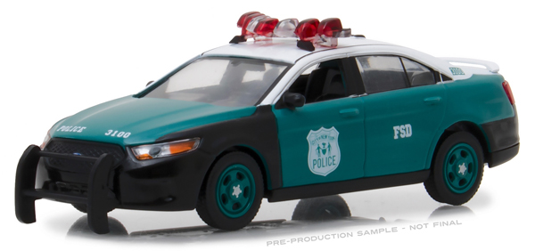 86094 - Greenlight Diecast NYPD 2014 Ford Police Interceptor Sedan Vintage