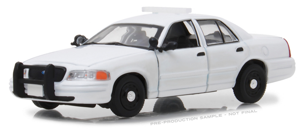 86095 - Greenlight Diecast 1998 2012 Ford Crown Victoria Police Interceptor