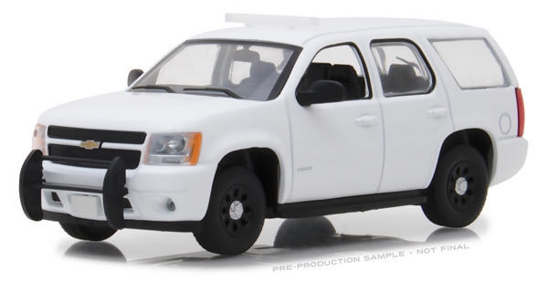 86096 - Greenlight Diecast 2010 2012 Chevrolet Tahoe Police Interceptor Plain