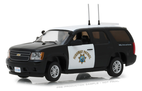 86098 - Greenlight Diecast 2012 Chevrolet Tahoe California Highway Patrol Authentic