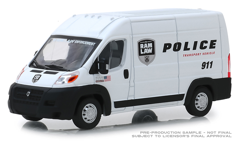 86168 - Greenlight Diecast 2018 Ram ProMaster 2500 Cargo High Roof