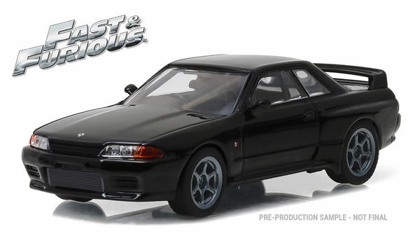 86229-X - Greenlight Diecast 1989 Nissan Skyline Furious 7 2014 MODEL