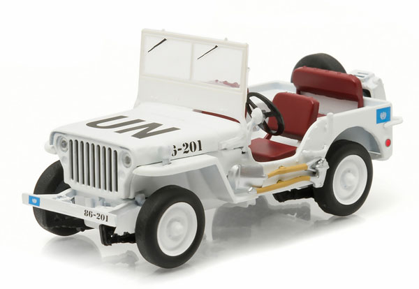 86308 - Greenlight Diecast United Nations Willys Jeep