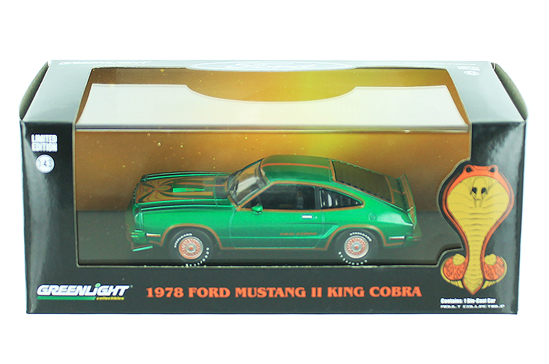 86321-SP - Greenlight Diecast 1978 Ford Mustang II King Cobra SPECIAL