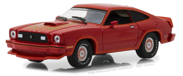 86321 - Greenlight Diecast 1978 Ford Mustang II King Cobra