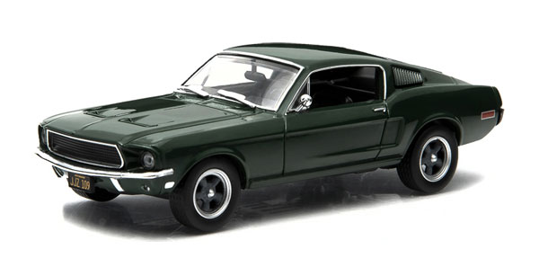 86431 - Greenlight Diecast 1968 Ford Mustang Fastback Bullitt 1968 Hollywood