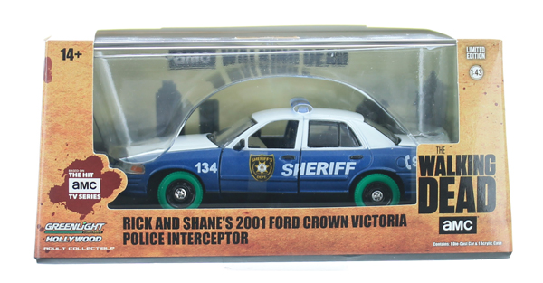 86504-SP - Greenlight Diecast Rick and Shanes 2001 Ford Crown Victoria