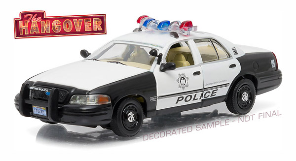 86506 - Greenlight Diecast Las Vegas Metro Police 2000 Ford Crown