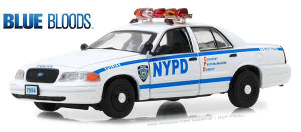 86519 - Greenlight Diecast New York City Police Dept NYPD 2001
