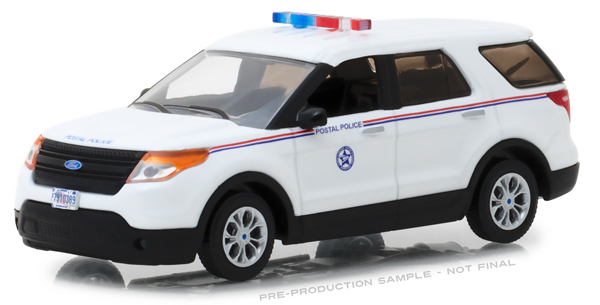 86524 - Greenlight Diecast USPIS 2014 Ford Explorer United States Postal
