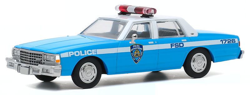 86583 - Greenlight Diecast New York City Police Department 1990 Chevrolet