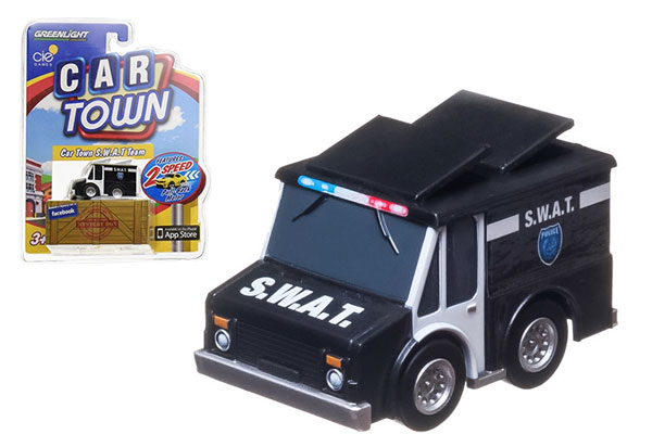 93020-F - Greenlight Diecast Swat Team Truck Car Town Series 2
