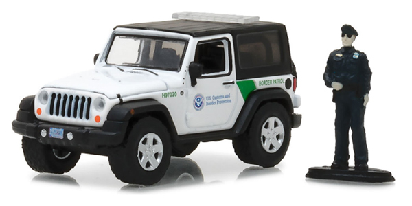 97020-E - Greenlight Diecast US Customs and Border Protection 2016 Jeep