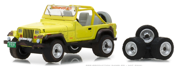 97030-D - Greenlight Diecast 1991 Jeep YJ