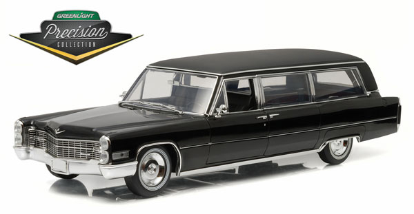 PC18002-X - Greenlight Diecast 1966 Cadillac Limousine