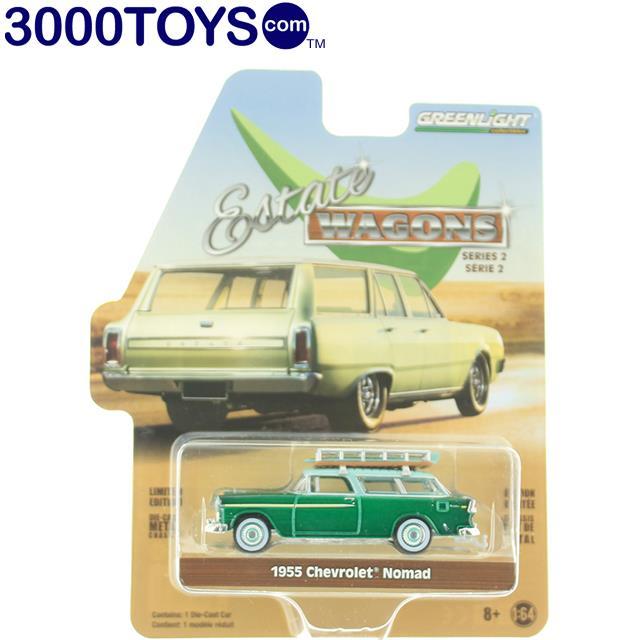 Greenlight Chevrolet Two-Ten Handyman Beige 1955 29930 A 1//64