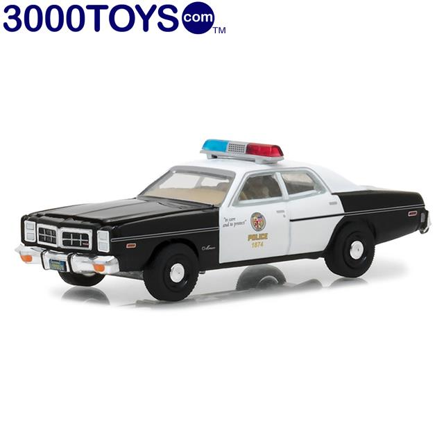 GREENLIGHT Hollywood Series 19 1:64 1977 Dodge Monaco THE TERMINATOR