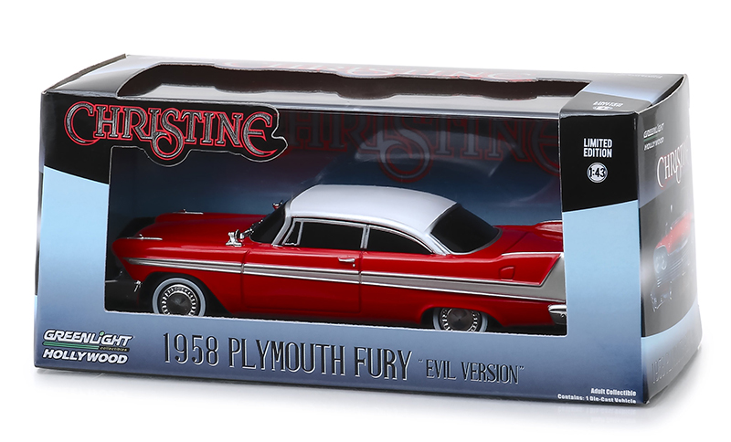 Plymouth Fury Green Machine Christine Movie 1:43 Greenlight
