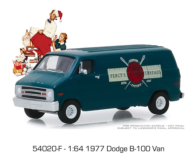 """1972 VOLKSWAGEN DOUBLE CAB PICKUP /""""ROCKWELL STATE PARK/"""" 1//64 GREENLIGHT 54020 E"""