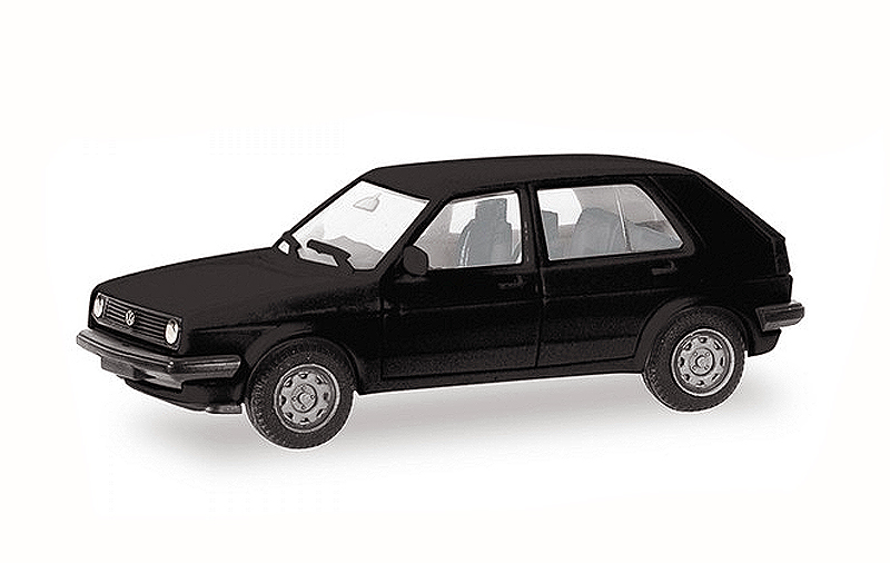 012195-BK - Herpa Model Volkswagen Golf II 4 Door